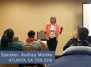 Audrey Monke-Atlanta-Talk