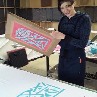 Textile Printing Annie
