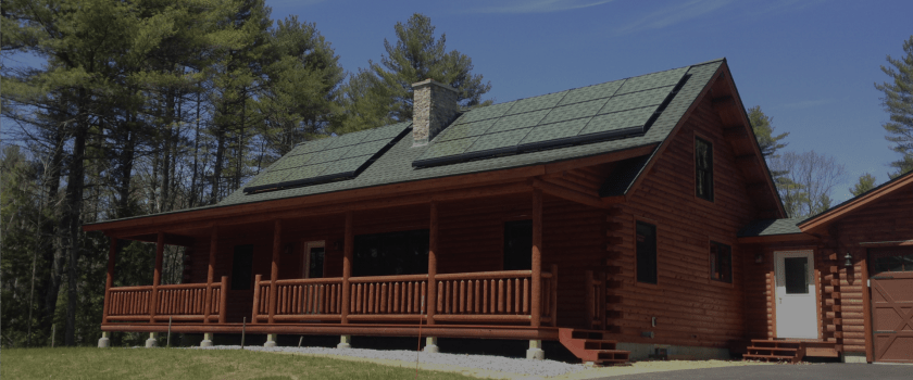 Solarskin installed on Home roof mounted solar panels