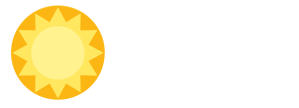 Sunshine Renewable Solutions Logo White Transparent