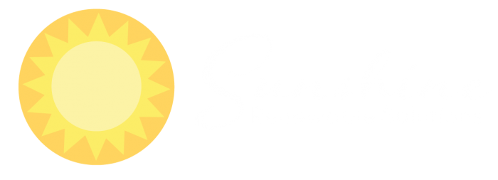 Sunshine Renewable Solutions Logo White Transparent Bg