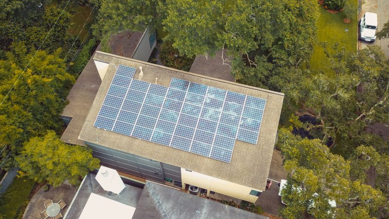 Solar Panel Installation in Woodlands Texas Professionally Installed by Sunshine Renewable Solutions