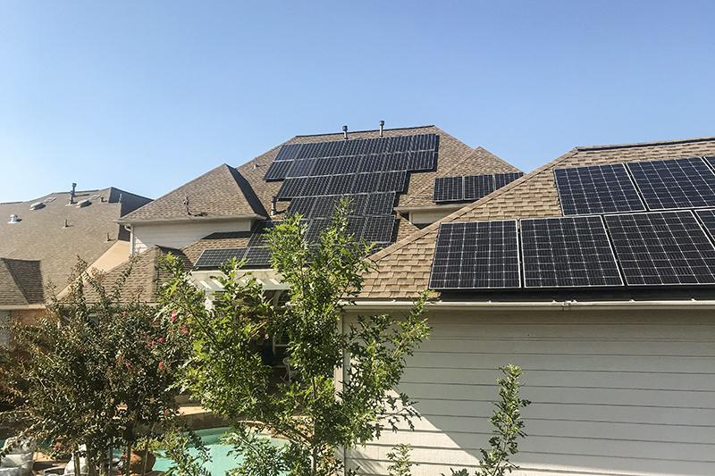 14.57 kW Solar Installation in Humble, TX