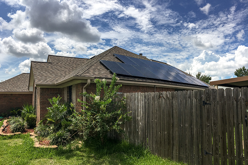 Solar Panel Installation in Lake Jackson
