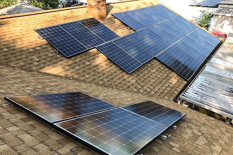 Solar Install in Baytown