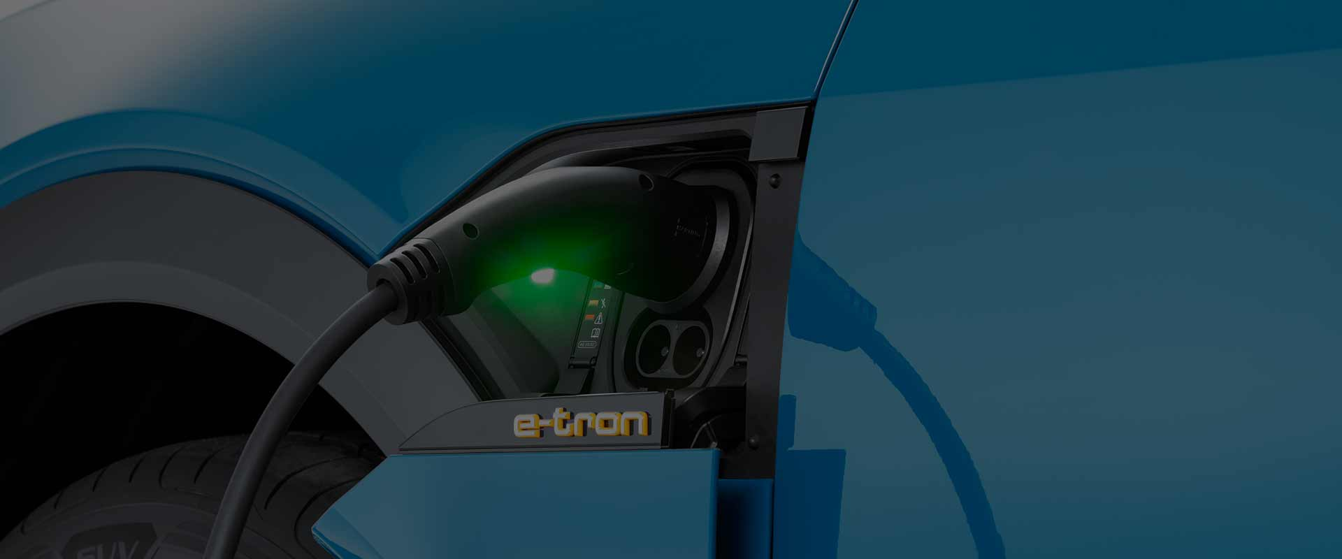 electric vehicle charger for an Audi e-tron