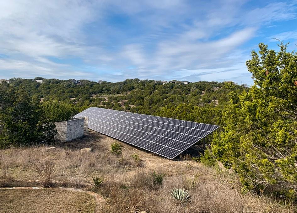 solar panels in texas