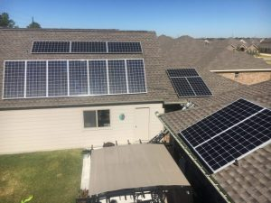 Roof Mount Solar Panel System Installation