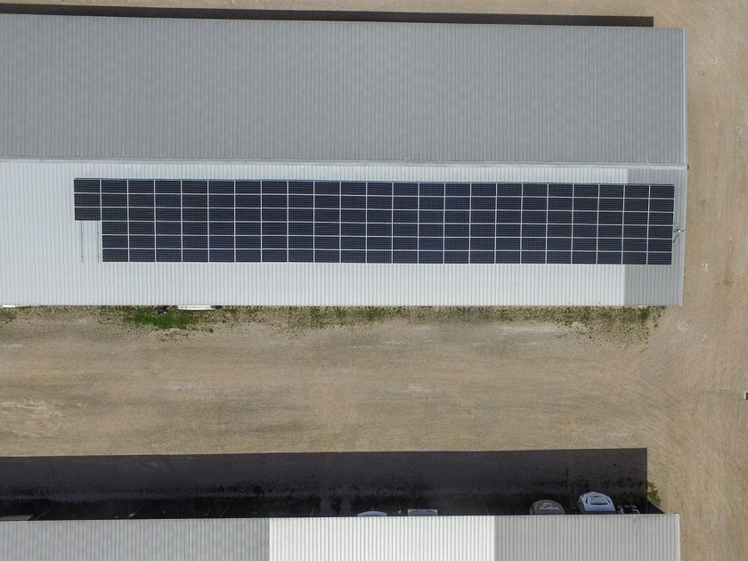 commercial solar panel system roof mount