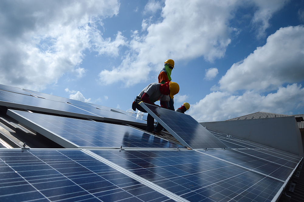 Installing Solar Panels Sunshine Renewable Solutions