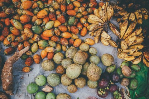 Tropical fruit of Sri Lanka