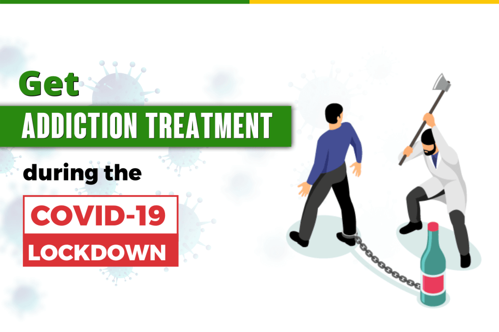 How Can I get Addiction treatment during the COVID-19 Lockdown in India?