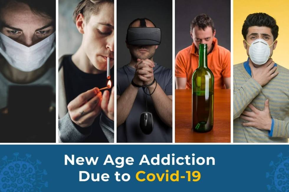 New Age Addictions due to Covid 19