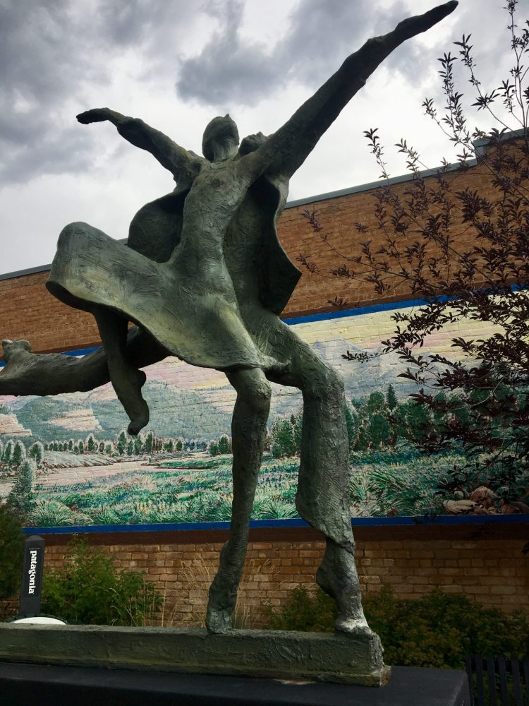 Statue in downtown Carbondale