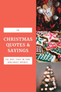 Christmas quotes & sayings