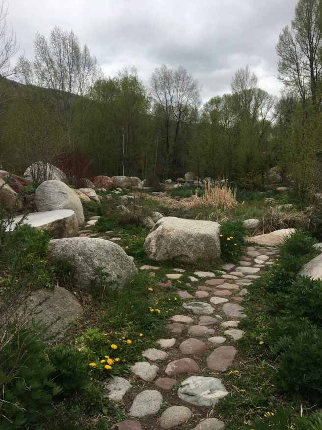 The John Denver Garden in Aspen, CO
