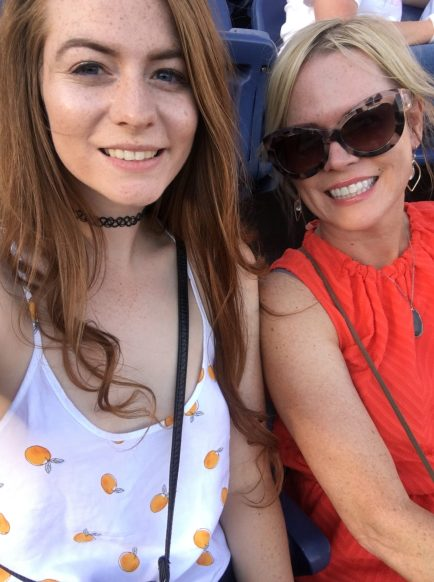 Taylor Swift concert with my mom
