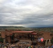 Avett Brothers show at Red Rocks