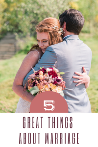 great things about marriage