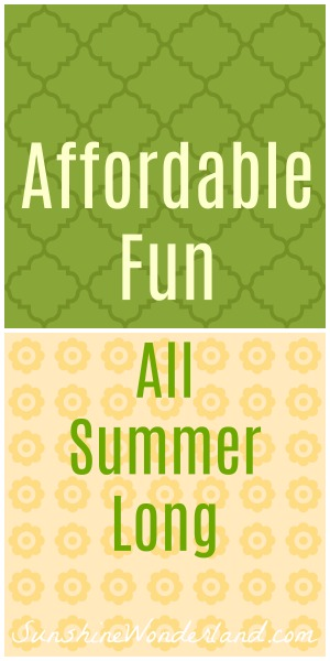 frugal summer fun