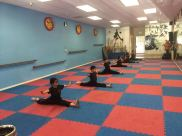 Children Kung Fu Splits
