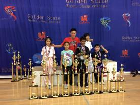 San Jose Kids Kung Fu Golden State Competition