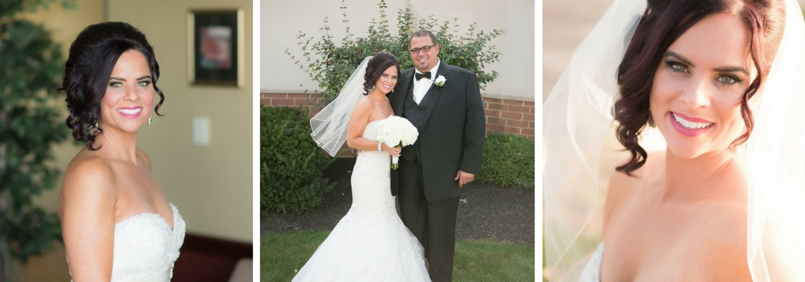 Kristen and Nino Wedding Toledo, OH Spray tan by SunSpray by Kathryn