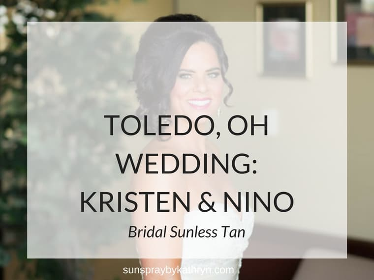 Toledo, OH Wedding Feature Sunless Bridal by SunSpray by Kathryn