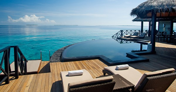 LUXURY HOTELS AND RESORTS IN THE MALDIVES beach house maldives pool villa