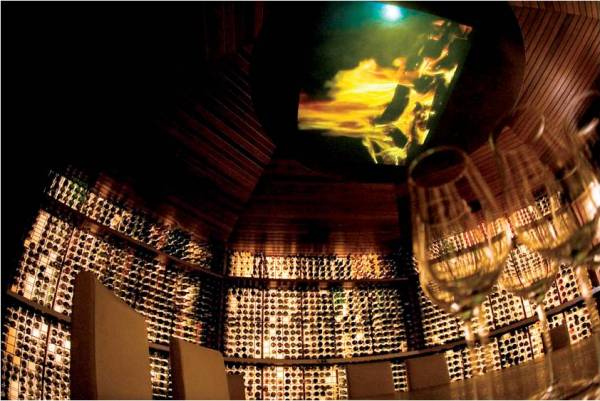 LUXURY HOTELS AND RESORTS IN THE MALDIVES huvafen fushi wine cellar