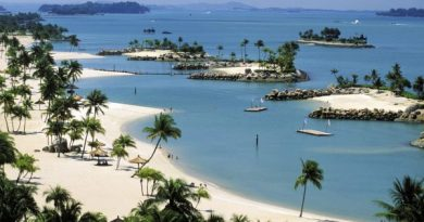 best luxury beach resorts in singapore sentosa island