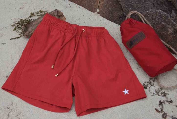 PAINT YOUR SUMMER HOLIDAYS RED FOR CHINESE NEW YEAR mazu resortwear mens swimwear