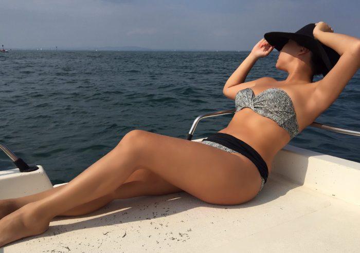 summer love with Calida Switzerland Swimwear bandeau bikini