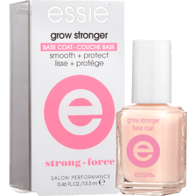 How to protect your nails in summer - Essie Grow Stronger Base Coat