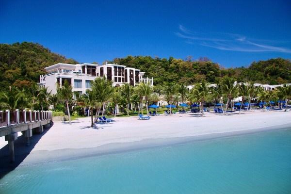 best luxury beach resorts in malaysia - st regis langkawi beach front