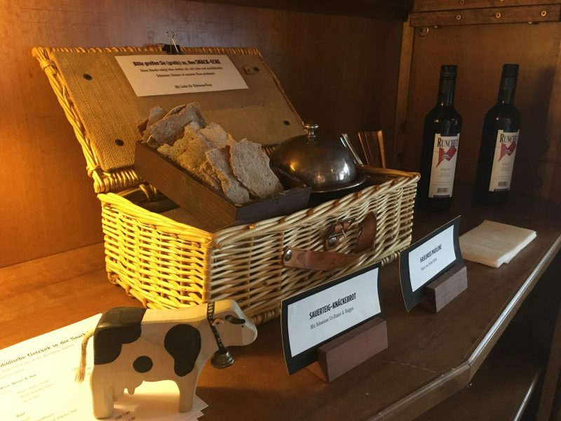 Some of the homemade snacks available to all guests at the Snack Corner in Krauter Hotel Edelweiss