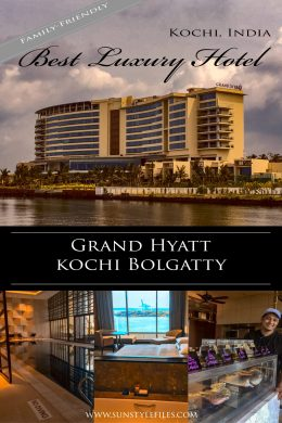 Discover the best luxury hotel in Kochi at the Grand Hyatt Kochi Bolgatt. #india #kerala #kidfriendly #familyhotel #luxuryresort #familytravel #luxurylife