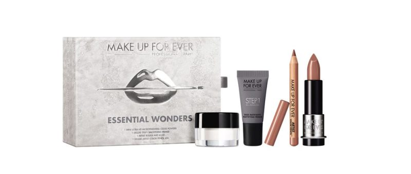 makeup sets for summer lovers make up for ever essential wonders christmas box set