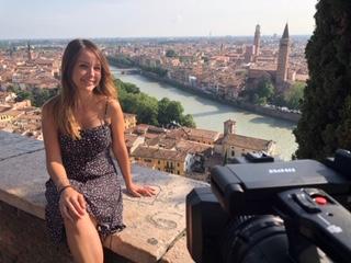 Virginia Conta local tour guide Romeo and Juliet Verona
