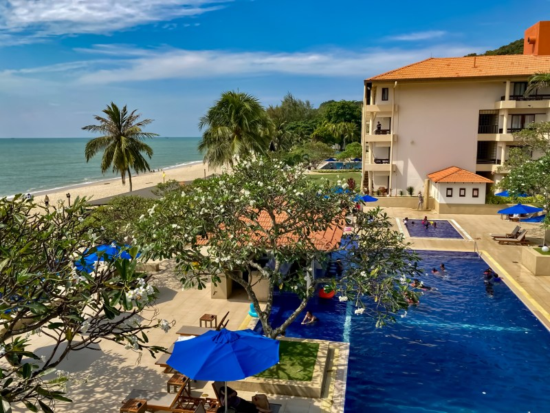 best family resort in malaysia view of swimming pools and the south china sea