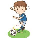 サッカーの無料素材・イラスト