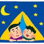 夏休みに関する無料イラスト~海・山・花火・キャンプなど~