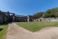 Fort around St Davids Cathedral