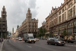 Budapest buildings