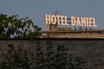 HOTEL DANIEL sign