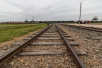 Train tracks to Birkenau