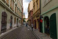 Walking the streets of Prague