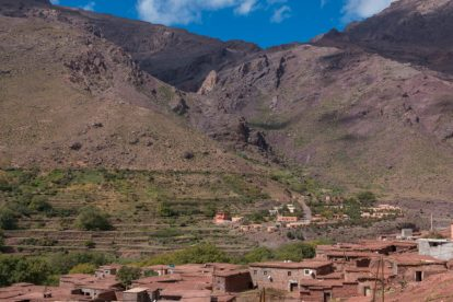 Casbah in the mountains