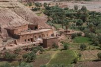 Buildings at Ait Ben Haddou