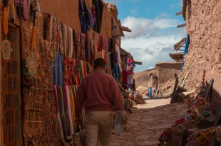 Walking the markets of the casbah